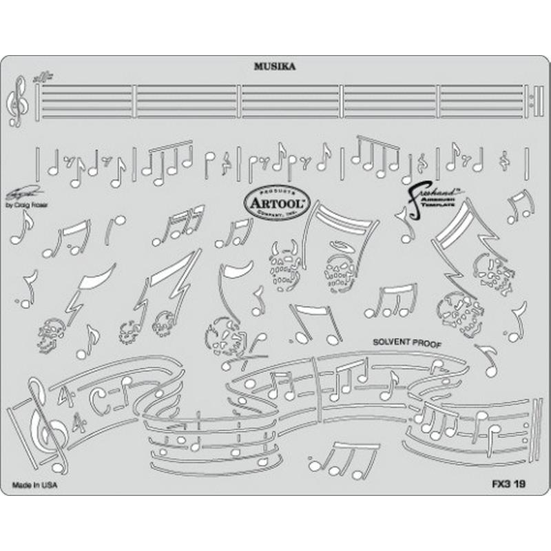 artool - Musika - Schablone FX 3 200 398