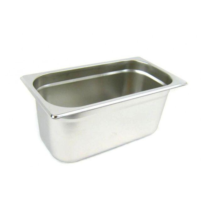 GN 1/3 Gastronormbehälter GN-Behälter Edelstahl 5,7 Liter Tiefe 150mm