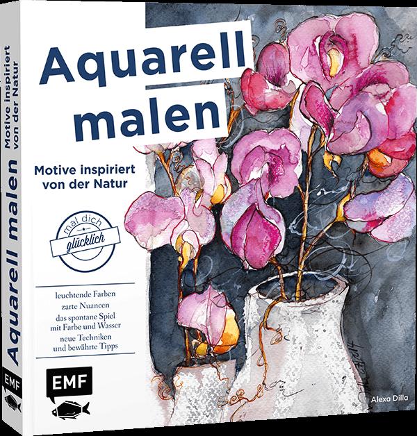 Buch Aquarell malen und Motive inspiriert von der Natur