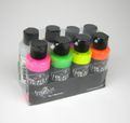 Wicked W103-B Fluorscent Set Farben 116193 Airbrush Farbe