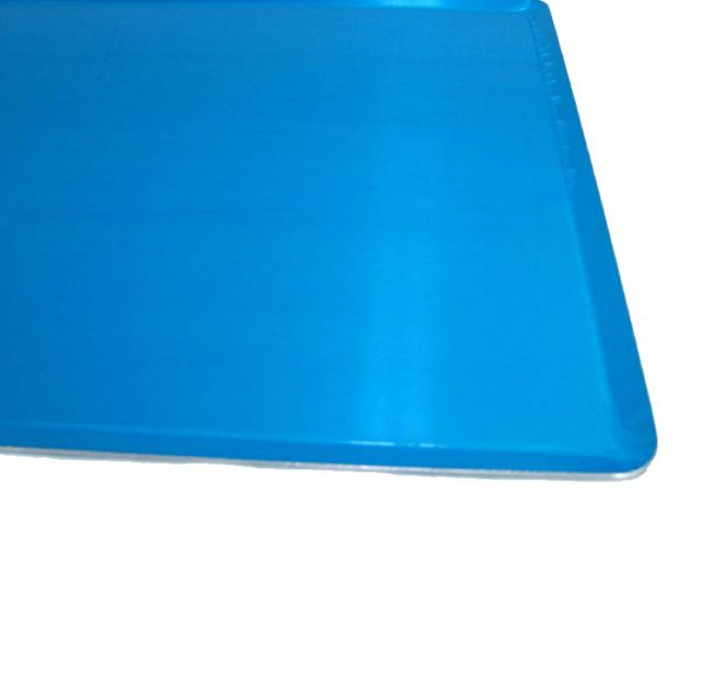 Tablett Aluminum 60 x 40 cm Serviertablett Gastrotablett Servierplatten