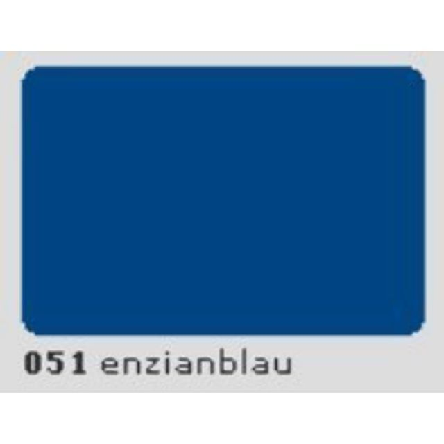 Oracal 631 Plotterfolie 63cm x 15m enzianblau MATT 051