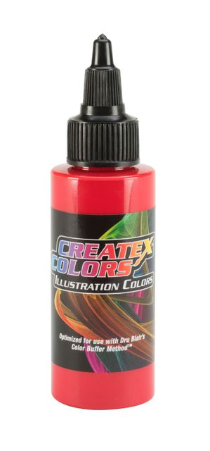 Opaque Red - 30ml Createx Illustration Colors - Airbrush Farbe deckend rot 50 7301