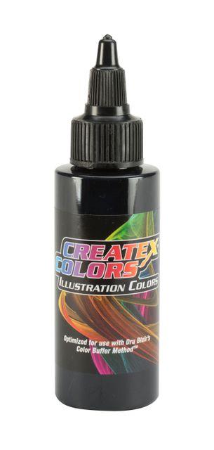 Createx Illustration Opaque Black 30ml Airbrushfarbe