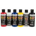 AutoAir 4963-00 Transparent Colors 6-Pack 120ml Airbrushfarbe (5 Farben + 4012 / 5 colors + 4012)