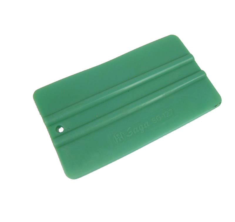 Rakel grün mittelhart 12cm x 7cm