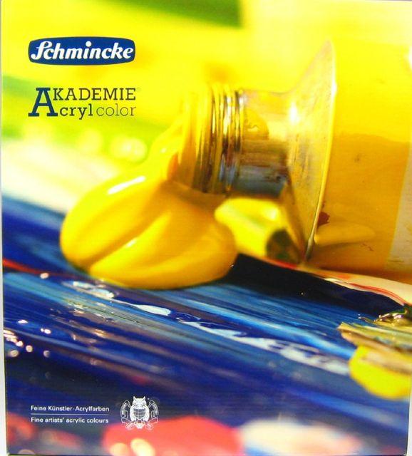 Schmincke AKADEMIE Acryl 10 x 60ml Farbenset 76 724 097 Acrylfarben