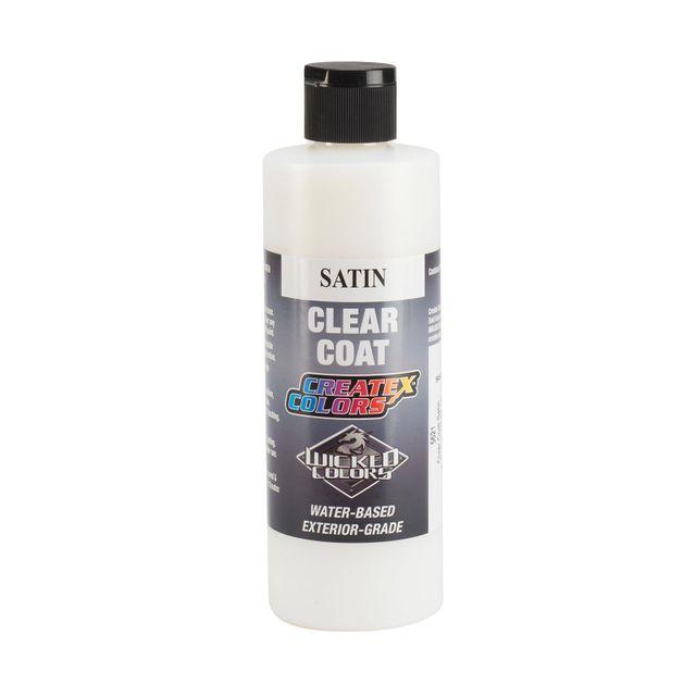 Createx 5621 Clear Coat Satin 240ml Airbrush Farbe Acryl Klarlack