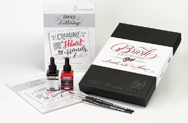 Brush Lettering Box Serie 4040 von da Vinci Hahnemühle Schmincke