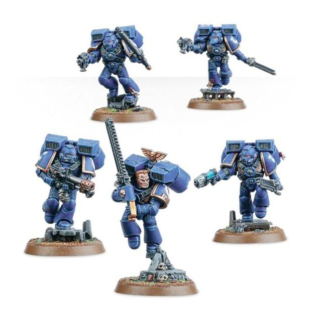 Space Marine Assault Squad ***