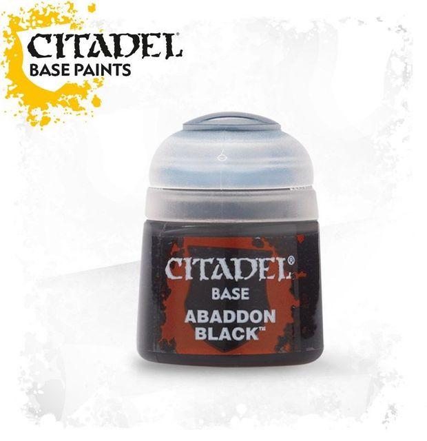 Abaddon Black 12ml Warhammer Acrylfarben