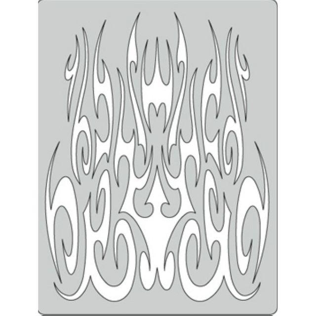 artool - Gothica - Flame-O Rama II - Schablone 200 331