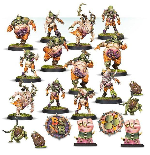 Blood Bowl Nurgles Rotters Warhammer Fantasy Figuren