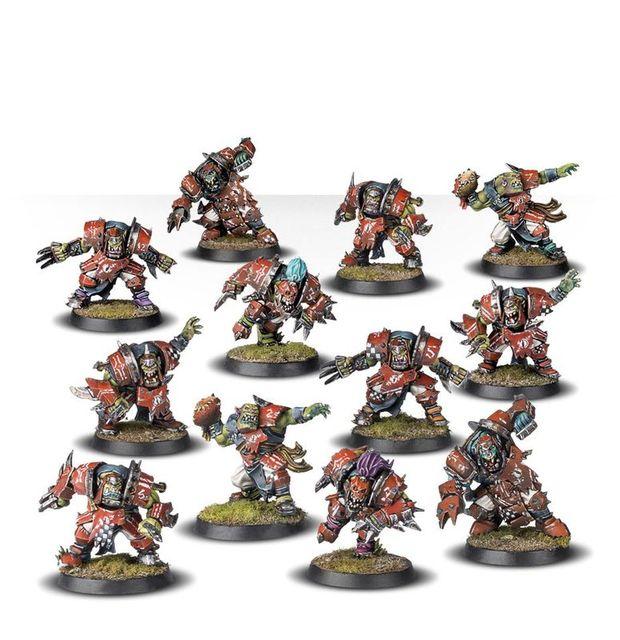 Blood Bowl The Gouged Eye Warhammer Bausatz 12 Fantasy Figuren
