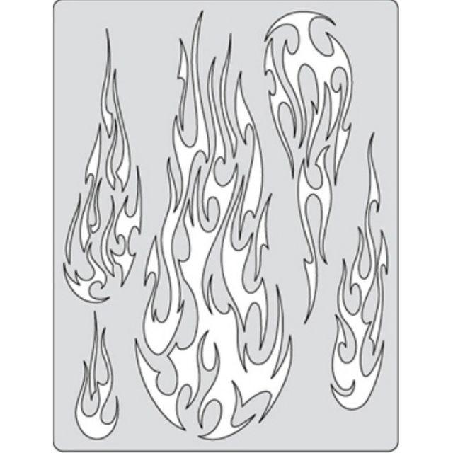 artool - Fire Balz - Flame-O Rama II - Schablone 200 329