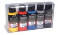 Premium Color 5 Color Set Vallejo 62103 Premium Metallic Color 5x 60ml Airbrush Farbe