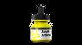 Acrylic Artist Inks Vallejo 60002 Process Yellow 30ml Airbrush Tinte