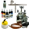 Body-Painting Airbrush Set - iwata Neo Airbrushpistole + Saturn Kompressor - Kit 7407