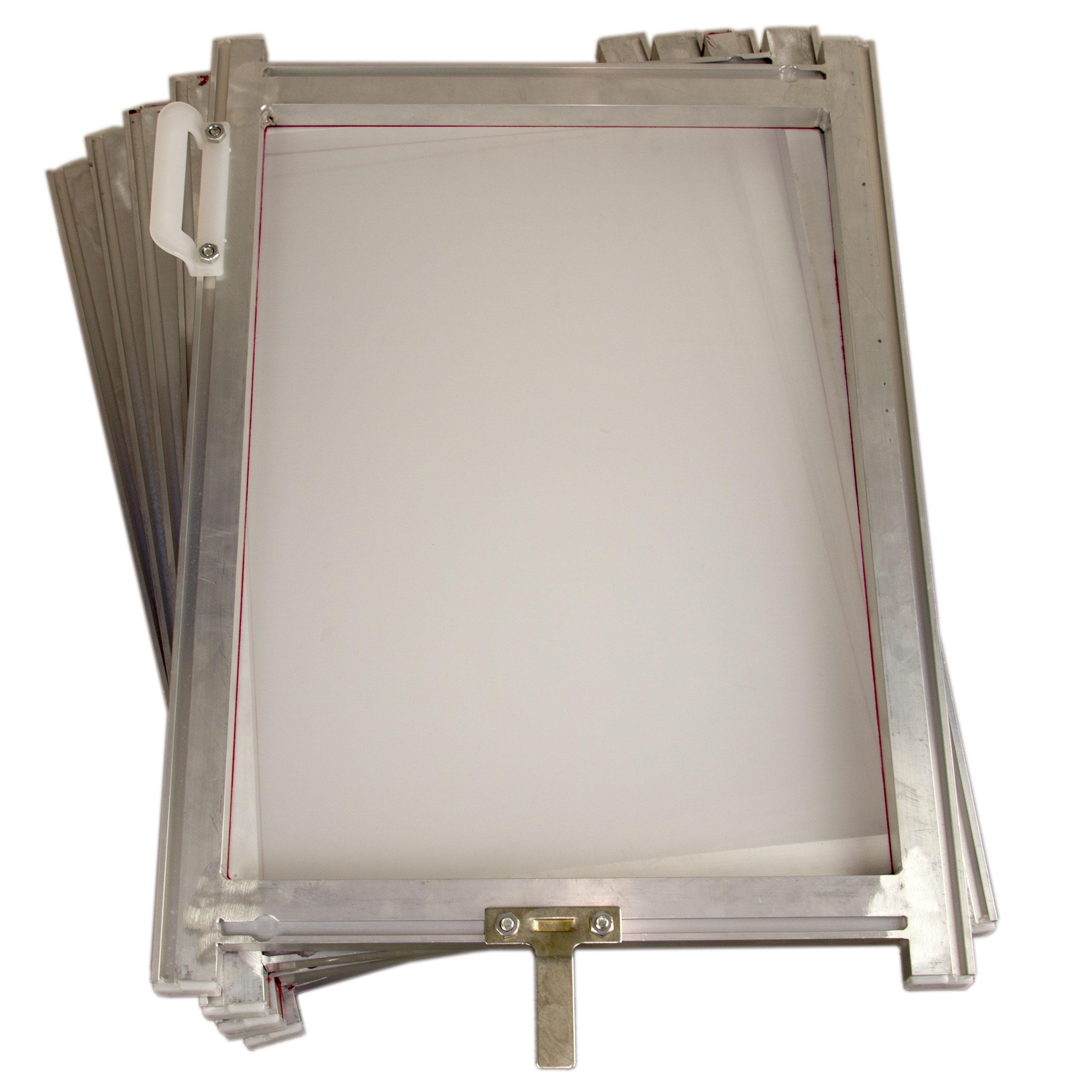 5 x Siebdruckrahmen 54T Line Table 16x22 Zoll Textildruck universal DIN-A3+