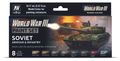 Vallejo Model Color Set 70221 Soviet Armour & Infantry Airbrush Farben