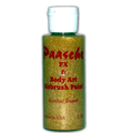 Paasche Tattoo Paint Gold mit Glitter 70ml
