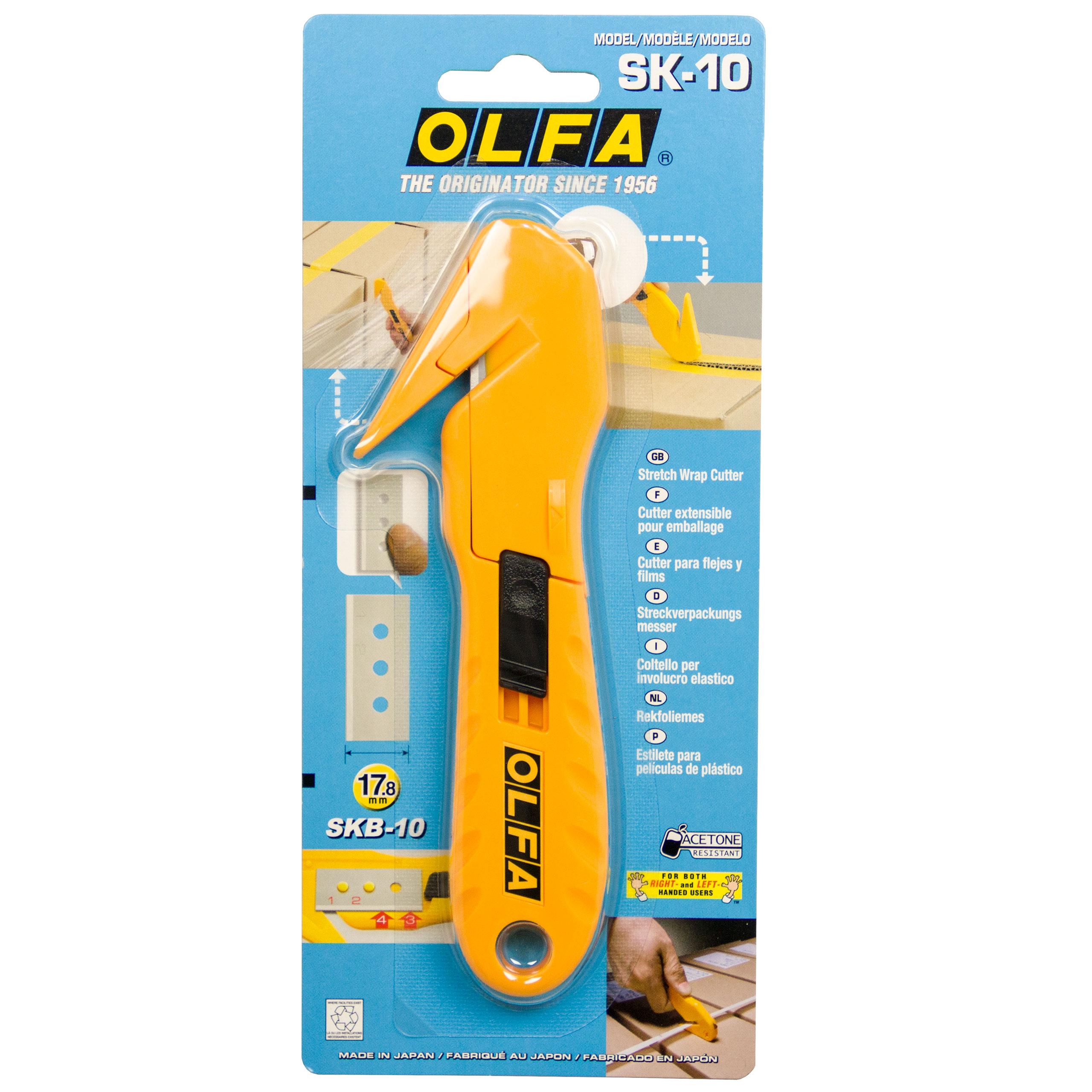 Olfa Folien-, Bänder- und Klebestreifenschneider SK-10