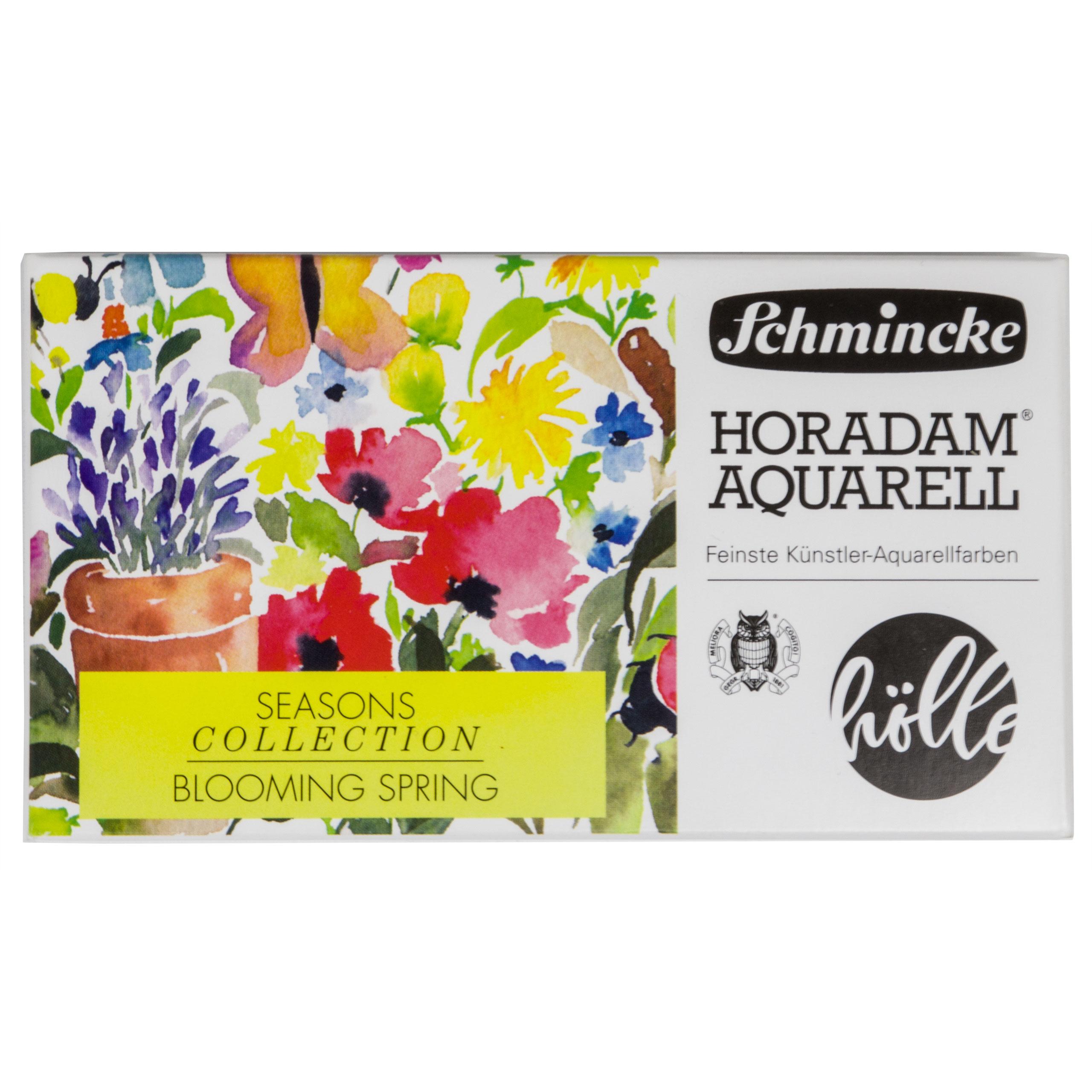 Blooming Spring - Horadam Metallkasten Frau Hölle Edition Schmincke 74 837 097