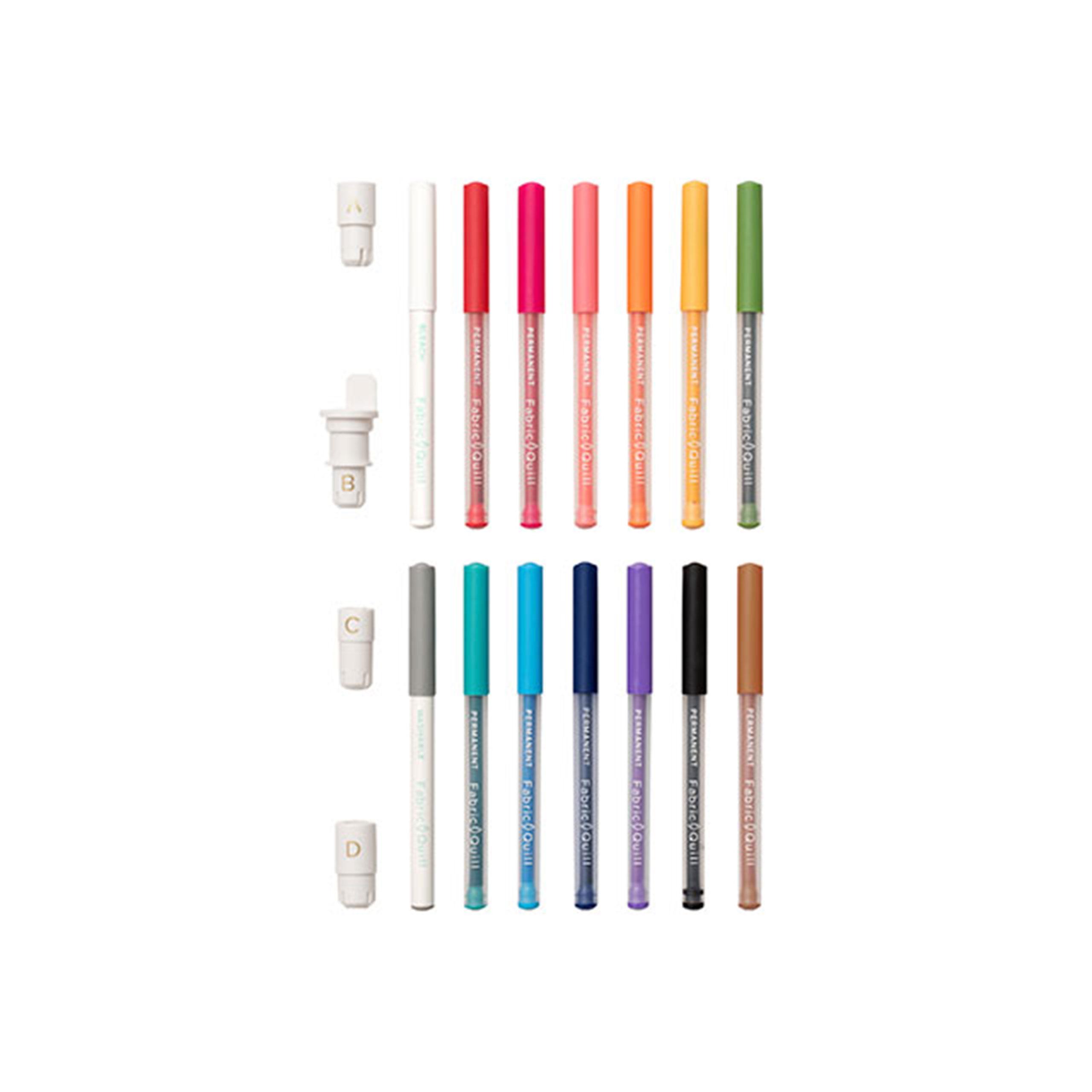 WR Fabric Quill - Starter Kit - Textilmarker für Silhouette und Brother Plotter
