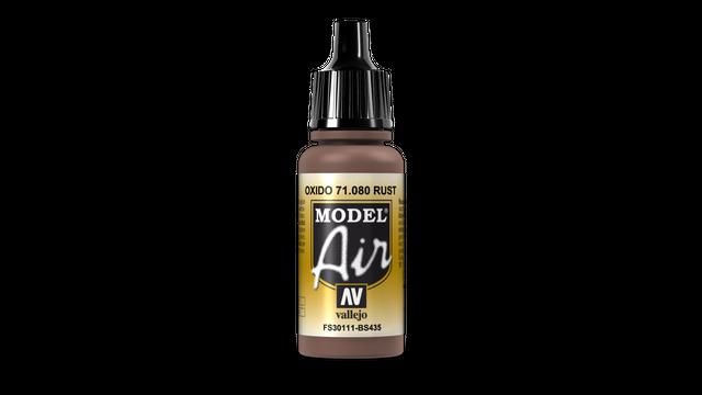 Rost 080 Vallejo Model Air 17ml Airbrush Farbe