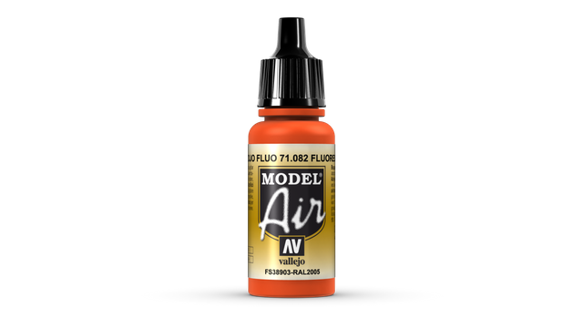 Leuchtrot 082 Vallejo Model Air 17ml Airbrush Farbe