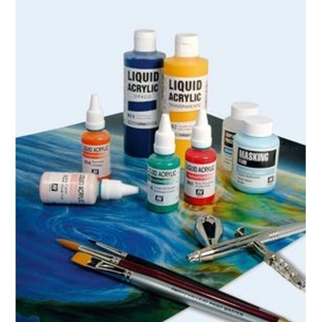 Basis Gelb 32ml Vallejo Airbrush Farbe 801 – Bild 2