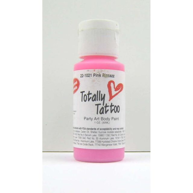 Badger Pink ( Pink ) Body Paint  30ml Tattoo Airbrush Farbe 22-1021