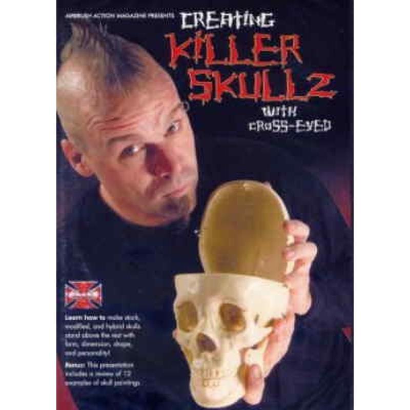 DVD Creating Killer Skullz with Cross-Eyed 220 023