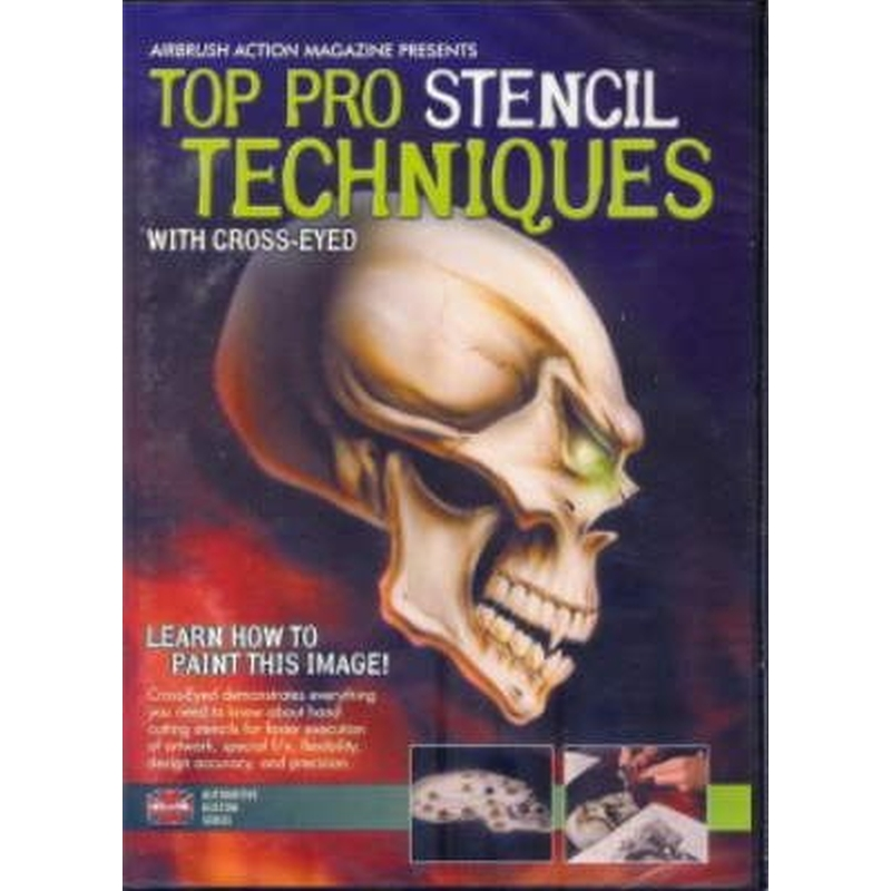DVD Pro Stencil Technique with Cross-Eyed 220 021