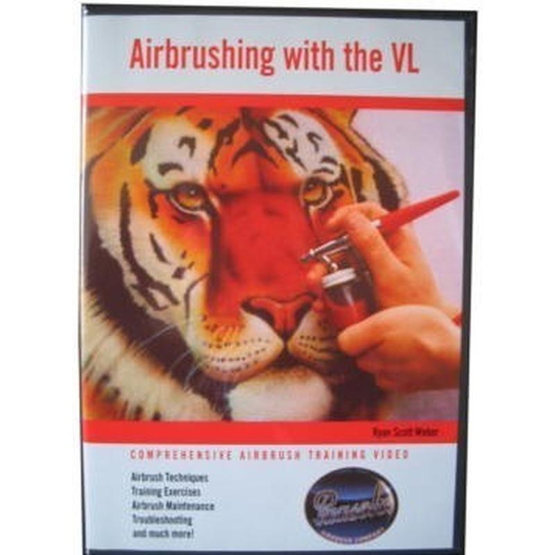 Anwendungs-DVD für Paasche VL-Pistole