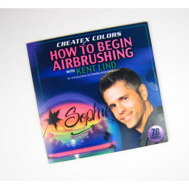 DVD How to begin Airbrushing 220 008