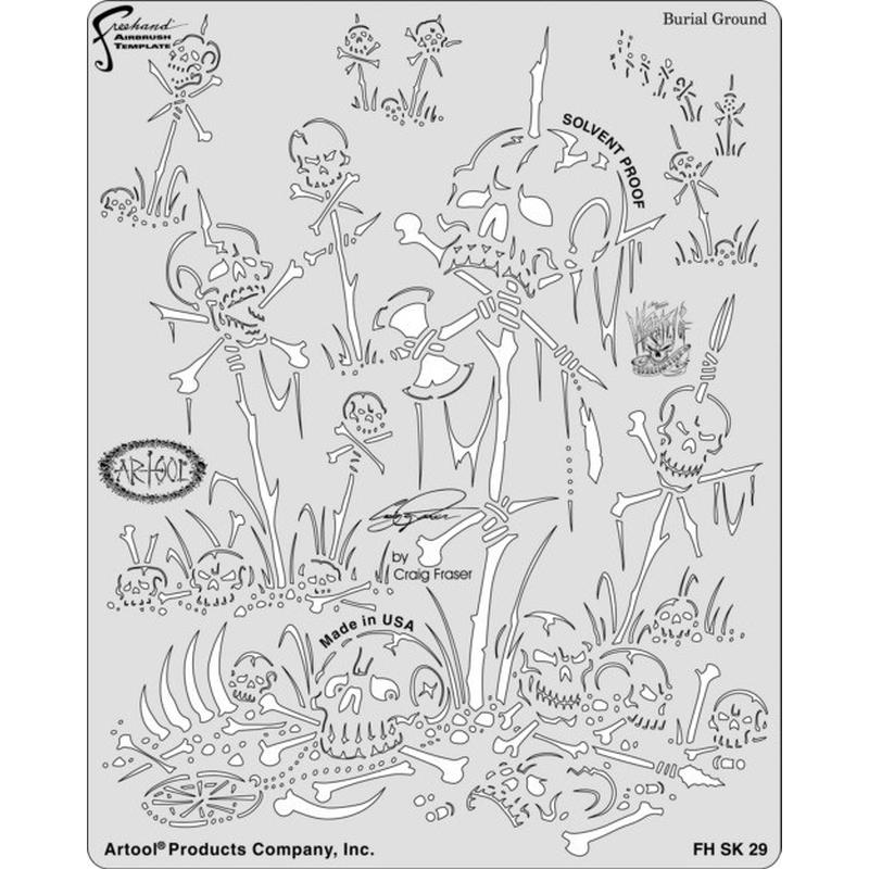 artool - Buriald Ground - Wrath of SkullMaster 200 435