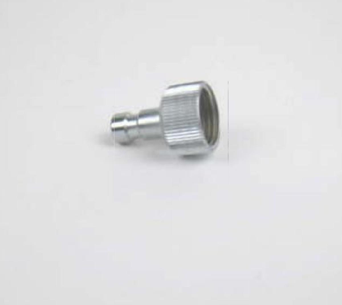 Stecknippel NW2,7 mit G1/8 Zoll Gewinde Harder und Steenbeck Nr. 104063