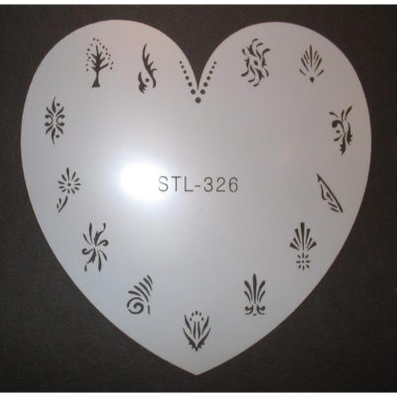 Airbrush-Schablone STL-326