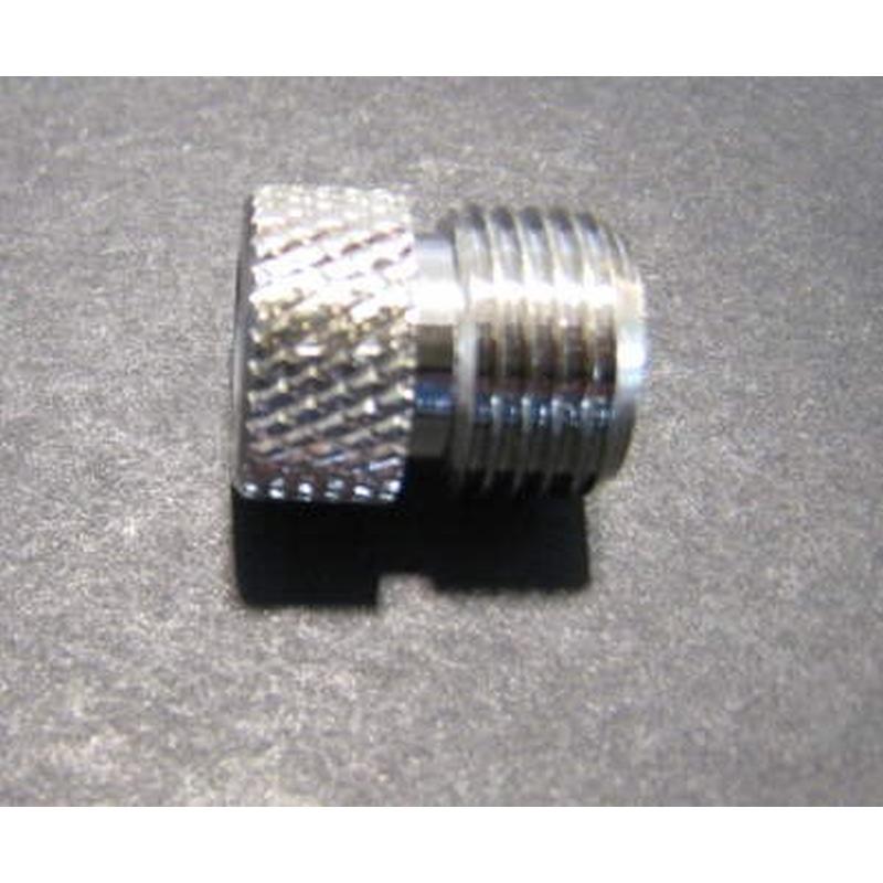 Adapter vernickelt Außengewinde G1/8 Zoll / innen Paasche