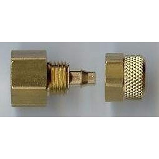 Adapter, 1/8  Innengewinde für Schlauchanschluss 4x6mm