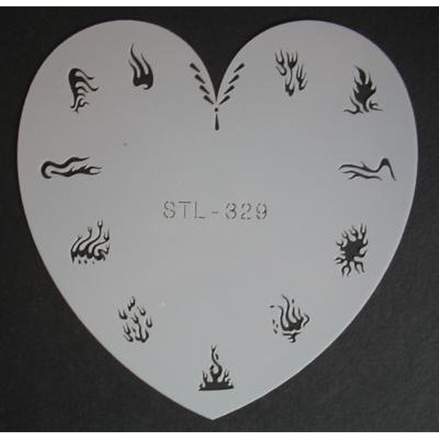 Airbrush-Schablone STL-329