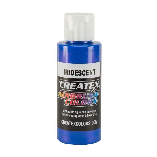 Iridescent Blue Createx Airbrush Colors Farbe 60ml 11 5505 Createx