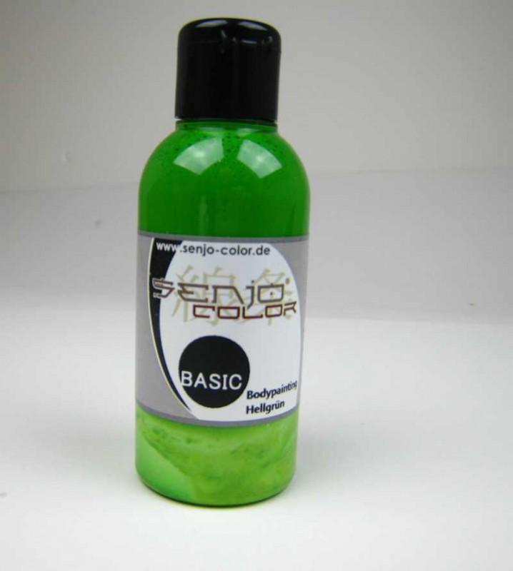 Senjo-Color Basic Bodypainting 75ml Hellgrün