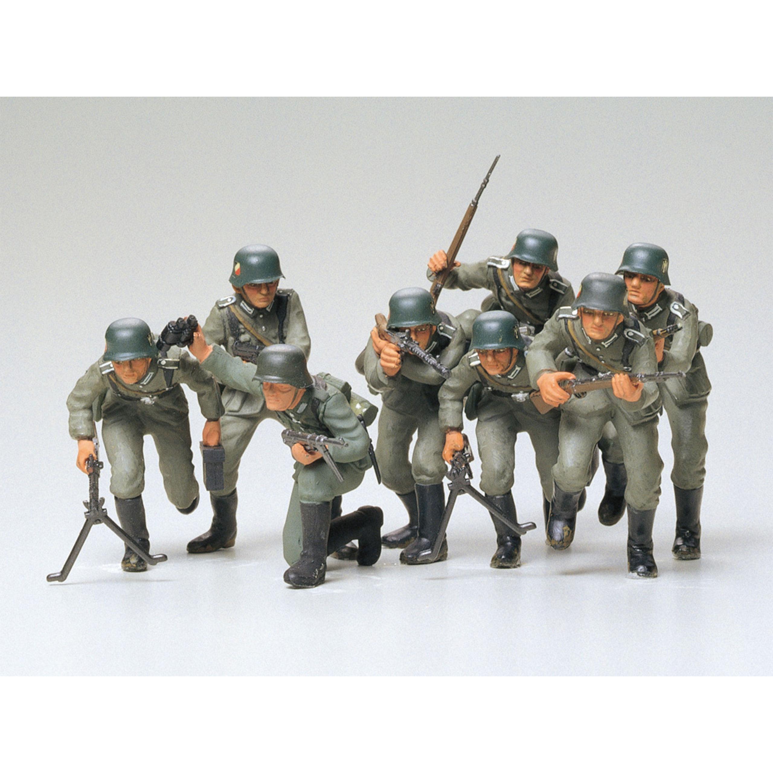 Tamiya 1:35 WWII Fig.-Set Dtsch. Inf 300035030