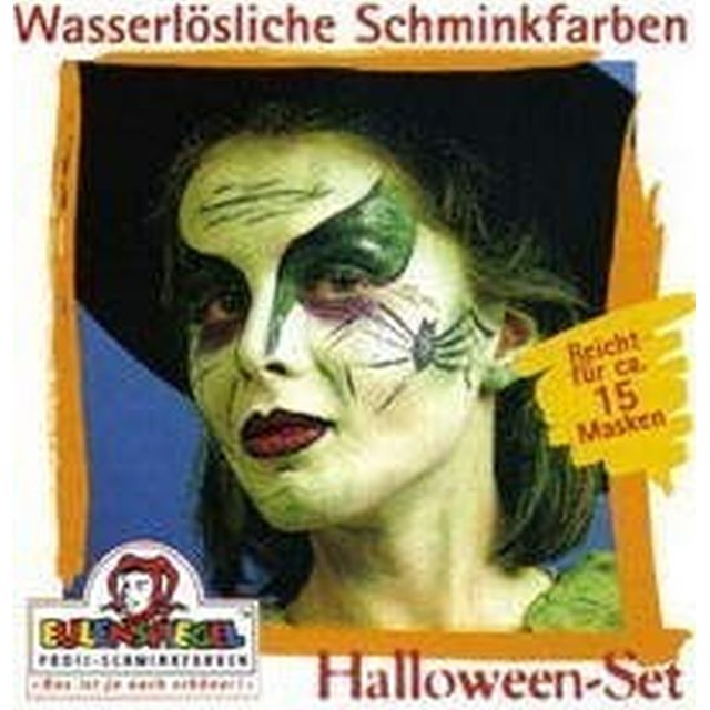 Eulenspiegel Profi Aqua Make Up Motiv - Set Halloween