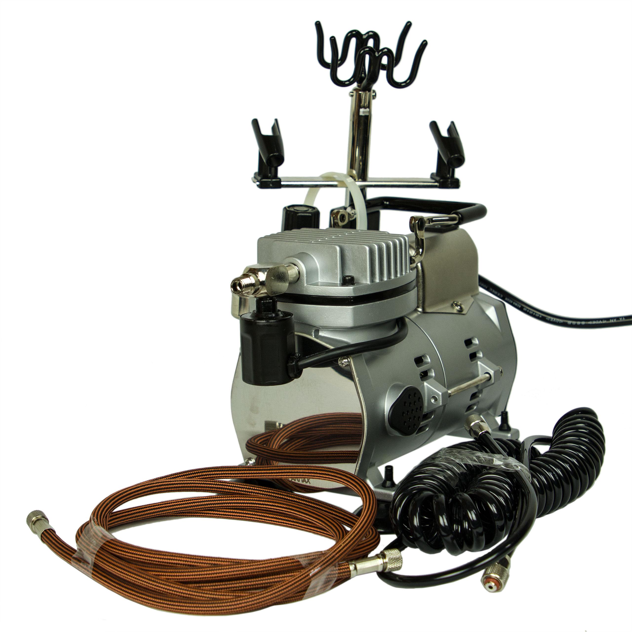 Airbrush Kompressor Saturn 25 mit Druckminderer