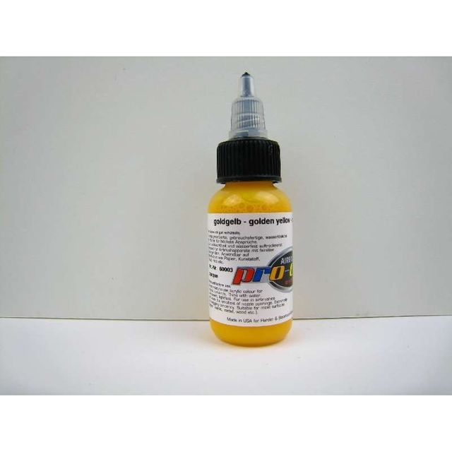goldgelb - Hansa pro-color 30ml 60003 Airbrush Farbe